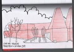 Casa das Histrias #1 (Maria Macaru) Tags: desenho caderno eduardosoutodemoura paularego casadashistrias