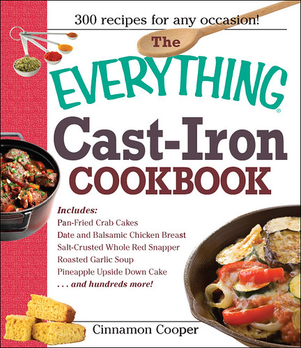 Everything Cast-Iron Cookbook by Cinnamon Cooper