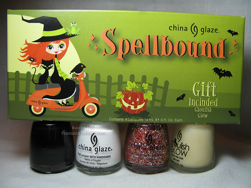 China Glaze Spellbound Halloween Set
