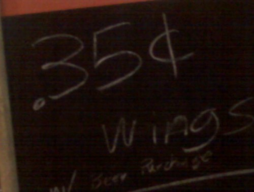 35 cent wings