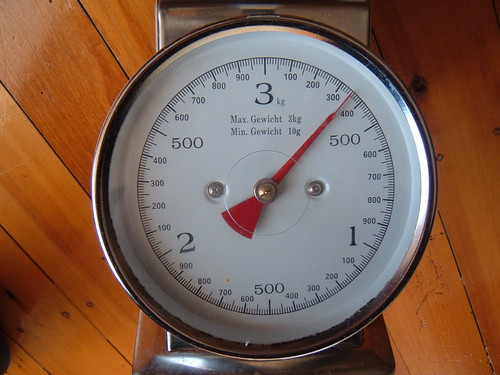 analogue German kitchen scale