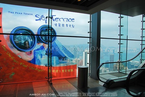 Sky Terrace at the Peak Tower