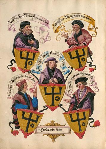 005-Das Ehrenbuch der Fugger 1545-1548-©Bayerische Staatsbibliothek