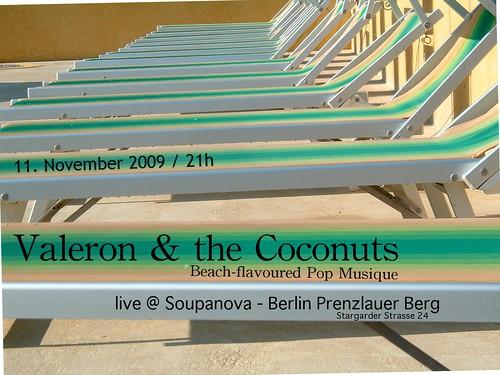Valeron & the Coconuts @ Soupanova