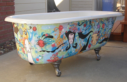 Antique Clawfoot Bathtub