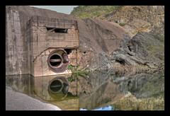 barrage de malpasset 1 (Alexis.D) Tags: france dam riviere var barrage hdr beton catastrophe arche frejus malpasset