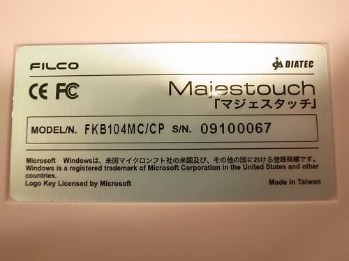 Filco粉紅青軸 - 19