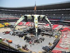 Septimo día de montaje - Estadio Azteca 47