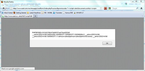 XSS on Mozilla