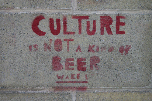 CULTURE is NOT a kind of BEER - Wake Up