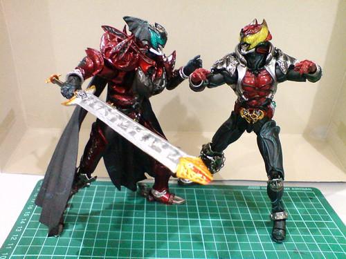 Kamen Rider Dark Kiva Sic Too Bad For Kamen Rider Kiva