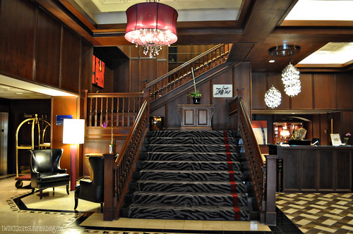 Grand Staircase at Grand Hotel ~ Minneapolis, MN