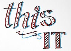 Words 10-1 (kraai65) Tags: words handmade letters calligraphy handlettering 100words