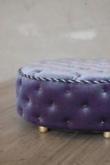 "Round pouf 1:4 ""Royal Blue"" (JuliaGart) Tags: for furniture furniturefordolls furnitureforthesybarite numina kd pouf julia juliagart gartung"