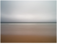 Horizontal Lines (GrisFroid) Tags: ocean sea water shore coast surf abstract grey pentax 645d fa 35mmf35 mediumformat