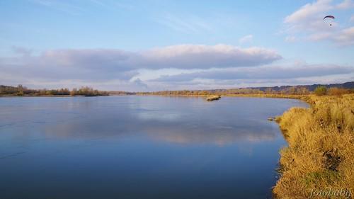 Kazimierski Park Krajobrazowy, Wisła jesienią  2
