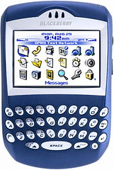 BlackBerry 6230 blue