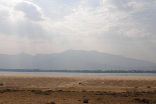 112.從Don Deang眺望Champasak