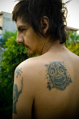 フリー画像| 人物写真| 男性ポートレイト| 外国人男性| イケメン| 刺青/タトゥー|      フリー素材|