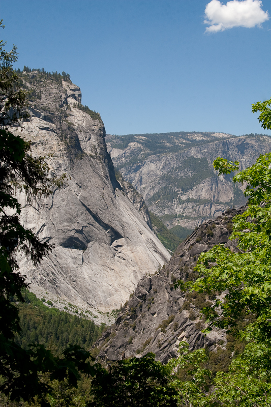 Looking Towards Yosemite Valley