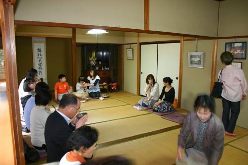 葵ハープ教室コンサート お茶席