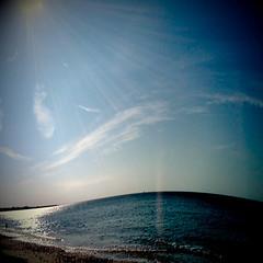 The Swell (Claire_Sambrook) Tags: blue sea sky apple seaside stones wave pebbles hampshire shutter portsmouth helga swell camerabag lag bendy iphone shutterlag eastney clairesambrook welshphotographer createup clairesambrookphotographer