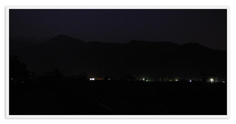 富源村的後山