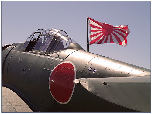 Warbird picture - NAT6 Texan/Mitsubishi A6M Zero