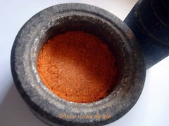 Moraccan Spice on Mortar
