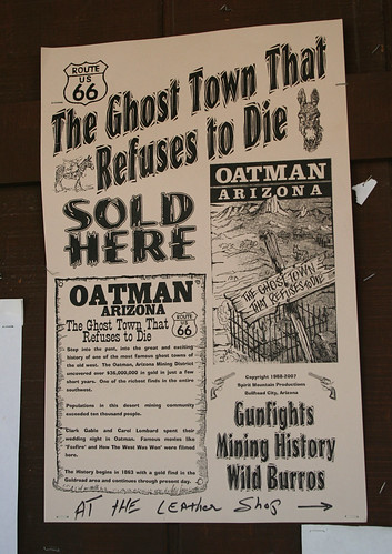 Oatman - The Ghost Town that Refuses to Die
