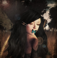 ~ (~Alia~) Tags: light tree texture night avatar avi sl secondlife textured alia slwindlight flickrunitedaward