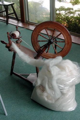 Spinning the fleeces