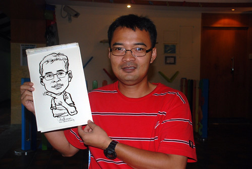 Caricature live sketching for Costa Sands Resort Day 3 - 13