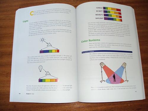Interior do livro - The Visual Story (Iluminação)