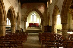 Nave - All Saints Burton Dassett