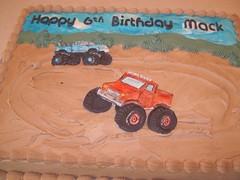 Monster trucks cake (debra.wood49) Tags: birthday cake monstertruck trrucks