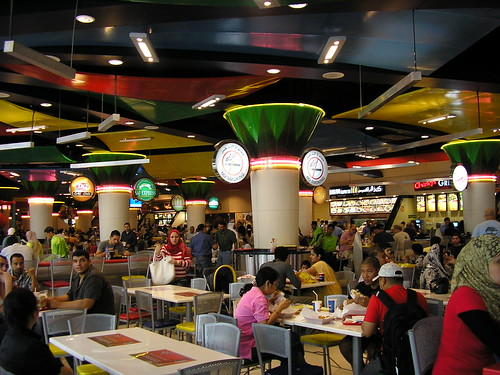 dubai mall pics. Dubai Mall food court