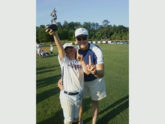 jake and daddy bb 09 (Hopewell Outlaws) Tags: hopewell outlaws 9ustatechampions