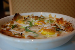 chicken egg casserole (stu_spivack) Tags: food chicken egg casserole flyingfig dopplr:eat=qfu0
