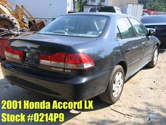 01 Honda Accord -stock #0214P9