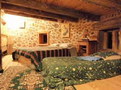 Notre chambre au bois cordé