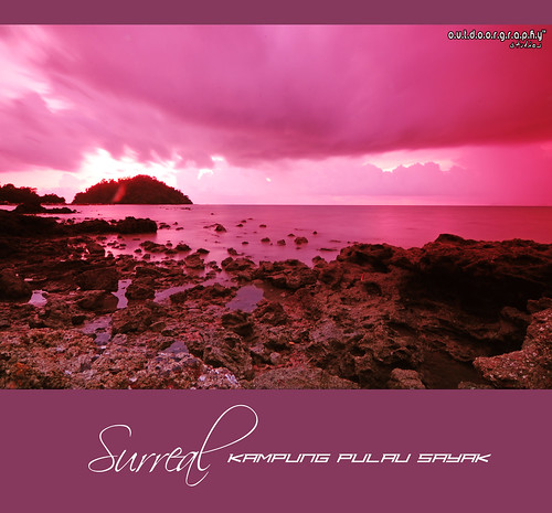 Pulau Sayak Sunset #2 (Cokin)