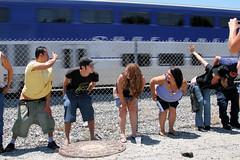 IMG_1557 (moonamtrak) Tags: girls moon girl train butt amtrak mooning laguna flashing metrolink amtrack niguel