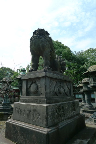 Stone Shishi lion dog
