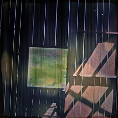portal (Bad, Bad Lechroy Brown) Tags: green barn photoshop square landscape edited pasture frame lech sunol texturekittykatfish naumovich flickruploaderiscrazythisisa40dphoto