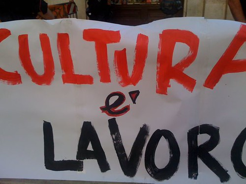 Cultura, Spettacolo, Informazione, Scuola, Università, Ricerca: precario il lavoro, precaria la libertà, precaria la democrazia
