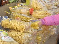 A sea of pasta