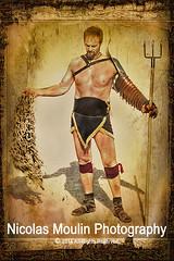 Gladiador retiarius (Nicolas Moulin (Nimou)) Tags: españa history festival spain historia tarragona eventos gladiador tarracoviva histoirephotoshop