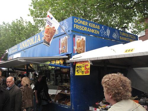 Turkish food stall
