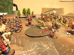 Battle joined (Zombie Master) Tags: warmachine menoth hordes skorne